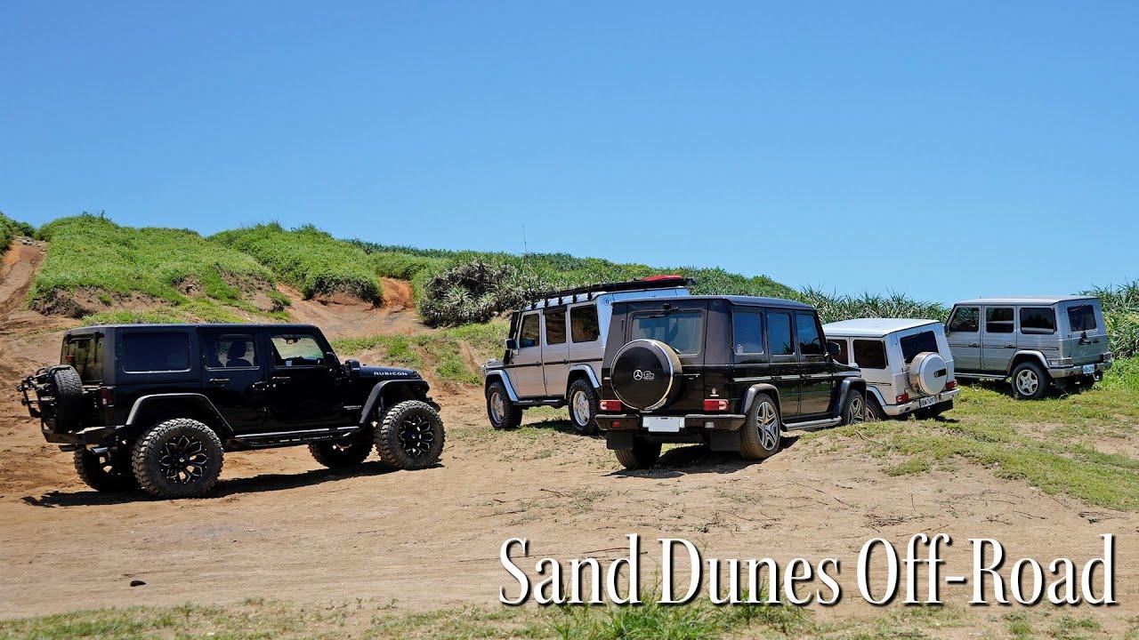 夏日豔陽下 沙丘上的冒險家們   Mercedes-Benz G-Class x Jeep Wrangler Rubicon