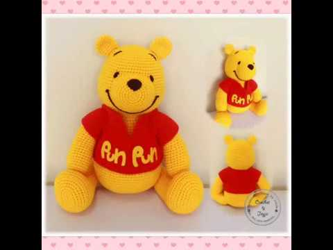 Tutorial Winnie the Pooh Amigurumi | How to crochet Winnie the ... | 360x480