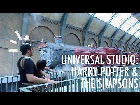 Jalan-Jalan di Universal Studio Cuma Untuk Harry Potter dan The Simpsons