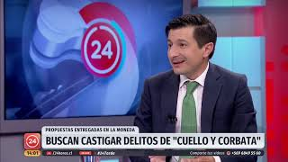 """Director de Chile Transparente: """"En Chile existe una justicia para pobres y una justicia para ricos"""" thumbnail"""