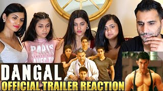 DANGAL | AAMIR KHAN | Trailer REACTION & REVIEW