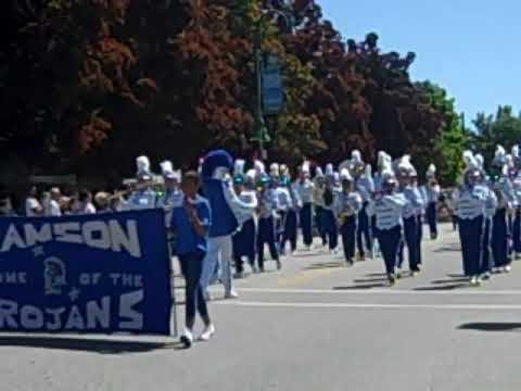 Manson High School Trojan Marching Band - Manson Apple Blossom Parade 2018