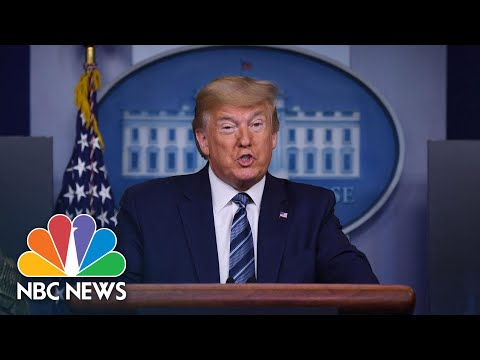 Trump To Deliver Additional 600,000 N95 Masks To New York City Hospitals | NBC News