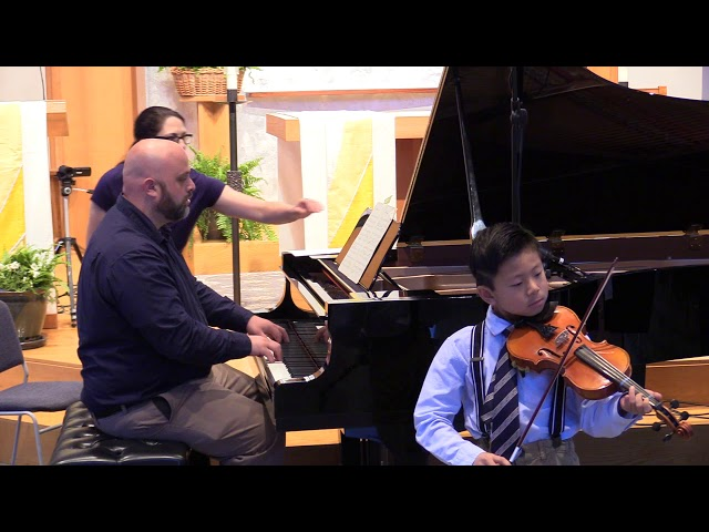 J.S.Bach, Minuet No.1