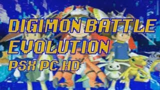 Digimon Battle Evolution: Omegamon (Omnimon) vs Reapermon- Digimon Rumble Arena PC HD PSX