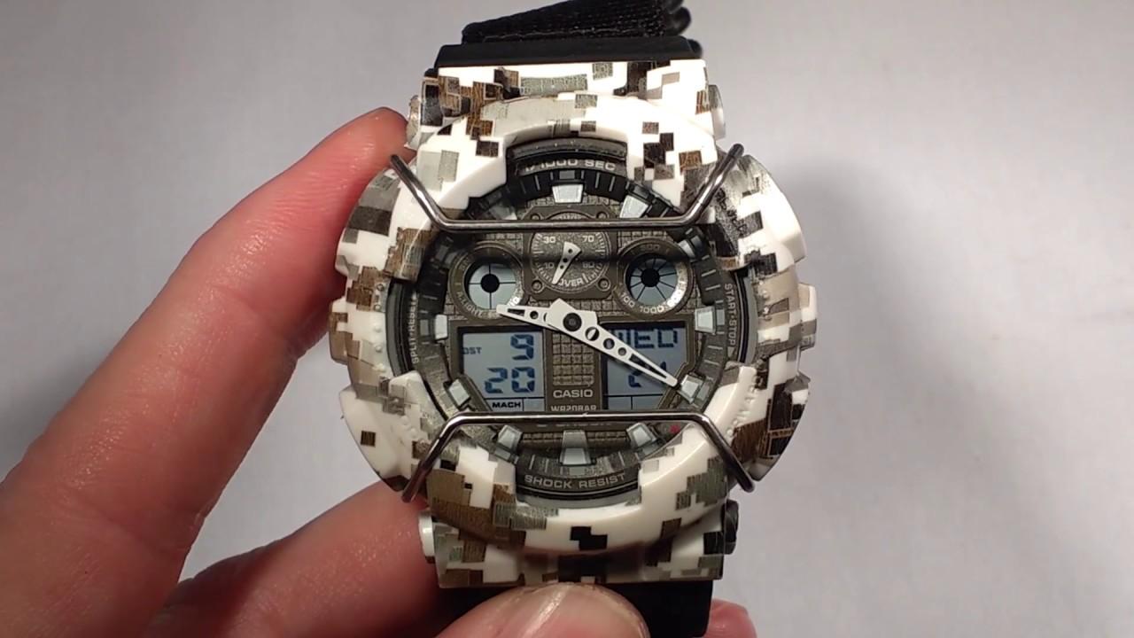 g shock watch instructions 5081