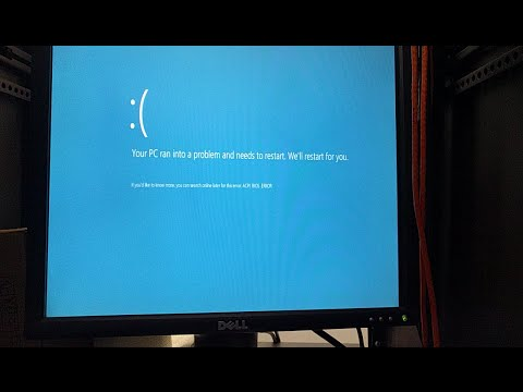 Fix ACPI_BIOS_ERROR when installing/upgrading to Windows 10
