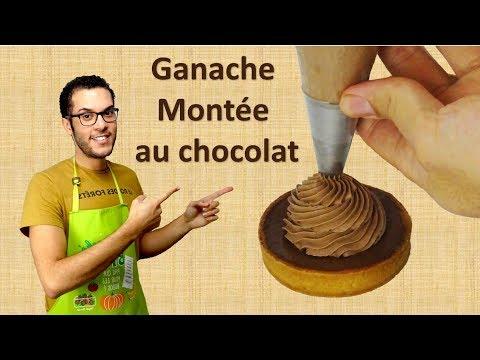 recette-ganache-montÉe-au-chocolat-noir-/-whipped-dark-chocolate-ganache-(en-subs)