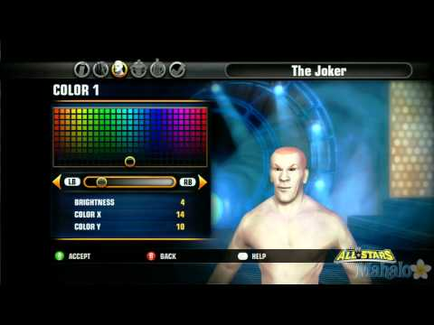 WWE All Stars Character Creation - The Joker