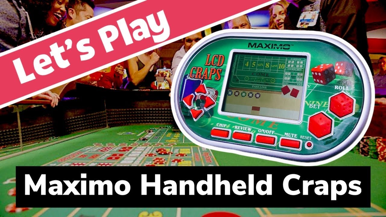 Electronic Craps Strategy