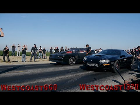 Turbo Camaro VS NA BBC Monte Carlo Nightmare On Any Street 3