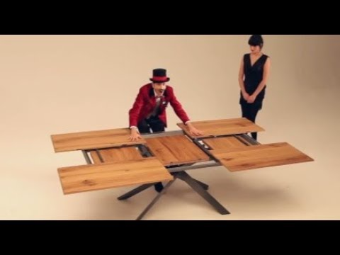 Les Plus Belles Tables Transformables Et Extensibles Youtube