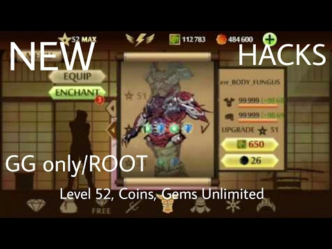 GAME GUARDIAN HACK SHADOW FIGHT 2