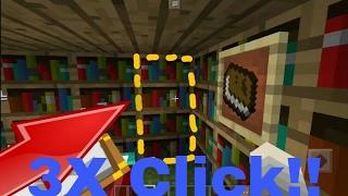TUTORIAL CARA BIKIN RUANG RAHASIA! | Minecraft Pocket Edition | Redstone Tutorial #1