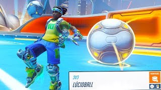 OVERWATCH SUMMER GAMES LUCIOBALL EVENT GAMEMODE!