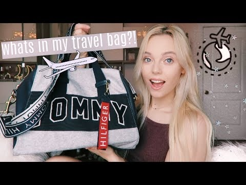 Whats In My TRAVEL Bag? To The Airport ✈️ Carry On Travel Essentials 🎀