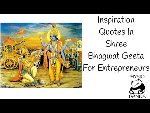 Inspirational Quotes Of Bhagavad Gita For Entrepreneurs For Path