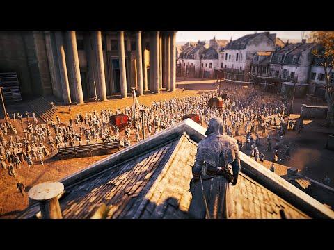 Assassin's Creed Unity - Master Assassin Stealth Kills - PC Gameplay |