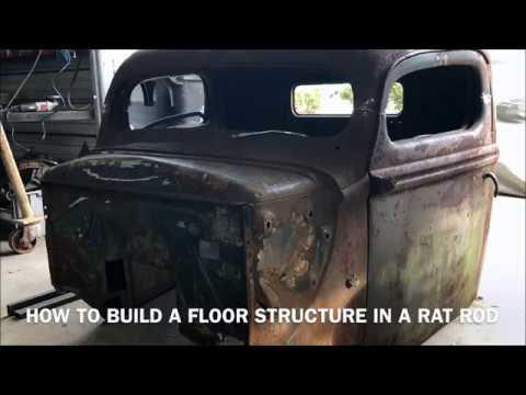 RATTOD tip of the day: SIMPLE WAY TO DO FLOORS IN YOUR RATROD AND FAST! HAVE A DECENT FLOOR IN HOURS