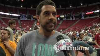Landry Fields cleverly answers what he