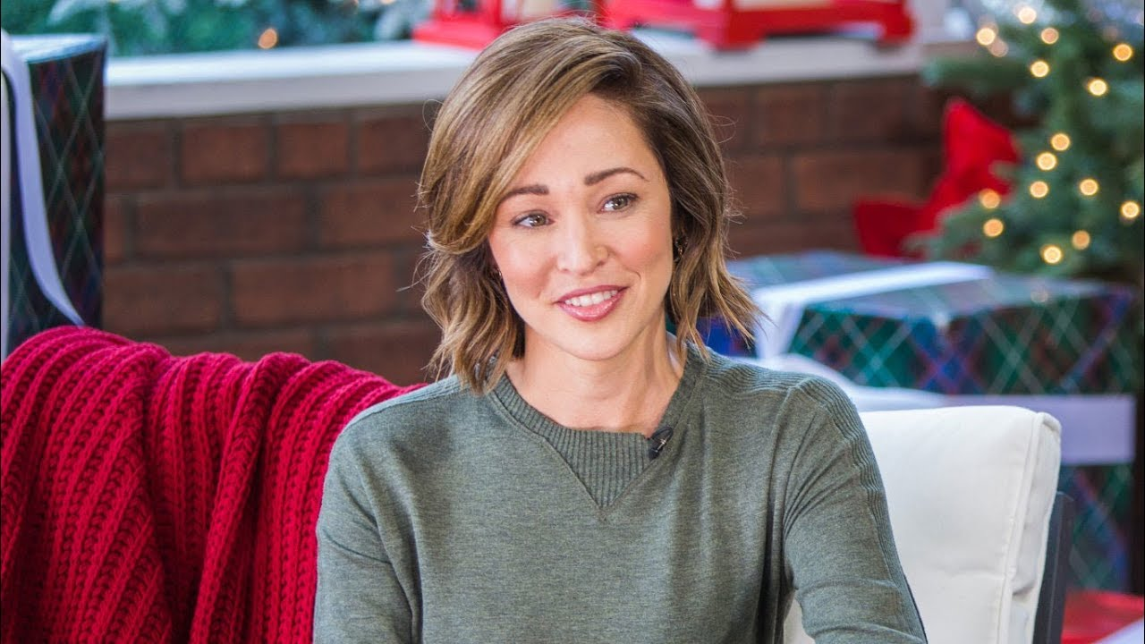 """Autumn Reeser Interview """"Christmas Under the Stars"""" - Home & Family - YouTube"""