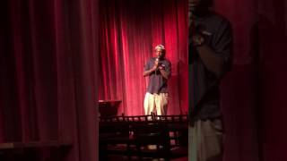 Jeavonte Moree at the WiseGuys Comedy Club 05/10/2017