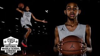 Larry Hughes Jr has a SMOOTH GAME - 2017 CP3 NMSC Camp Mixtape
