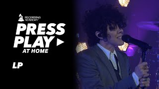 "LP Performs Impassioned Version Of ""The One That You Love"" 