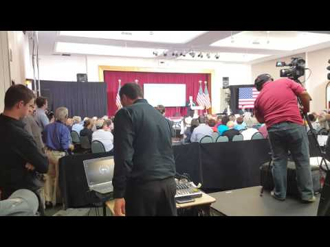 Tim Kaine Answers Question in Henderson, NV, on Veterans' Health Care