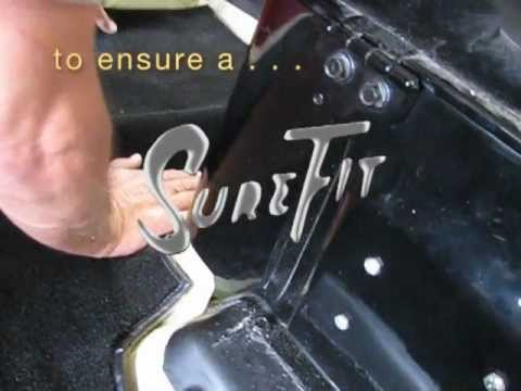 Classic Auto Upholstery Custom Carpet Fitting Tips For A Sure