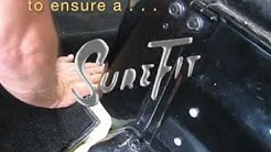 Classic Auto Upholstery - Custom Carpet Fitting - Tips for a Sure Fit