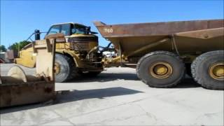 2004 Caterpillar 740 articulated dump truck Demo