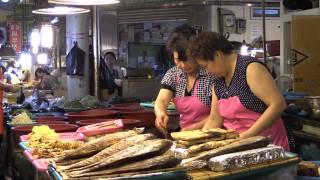South Korea-Pohang Jukdo Market.