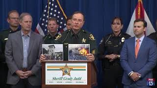The difference between peaceful and non-peaceful protests, by Sherriff Grady Judd