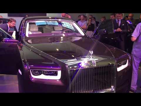 Обзор на русском Rolls Royce Phantom VIII (8) Обзор салона