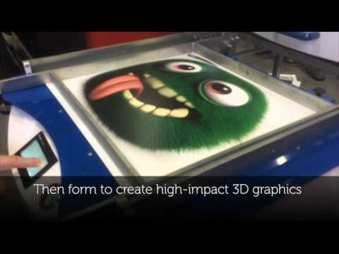 Direct Print Thermoforming with the EFI H1625-SD Printer