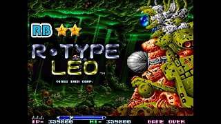 1992 [60fps] R-Type Leo Nomiss ALL