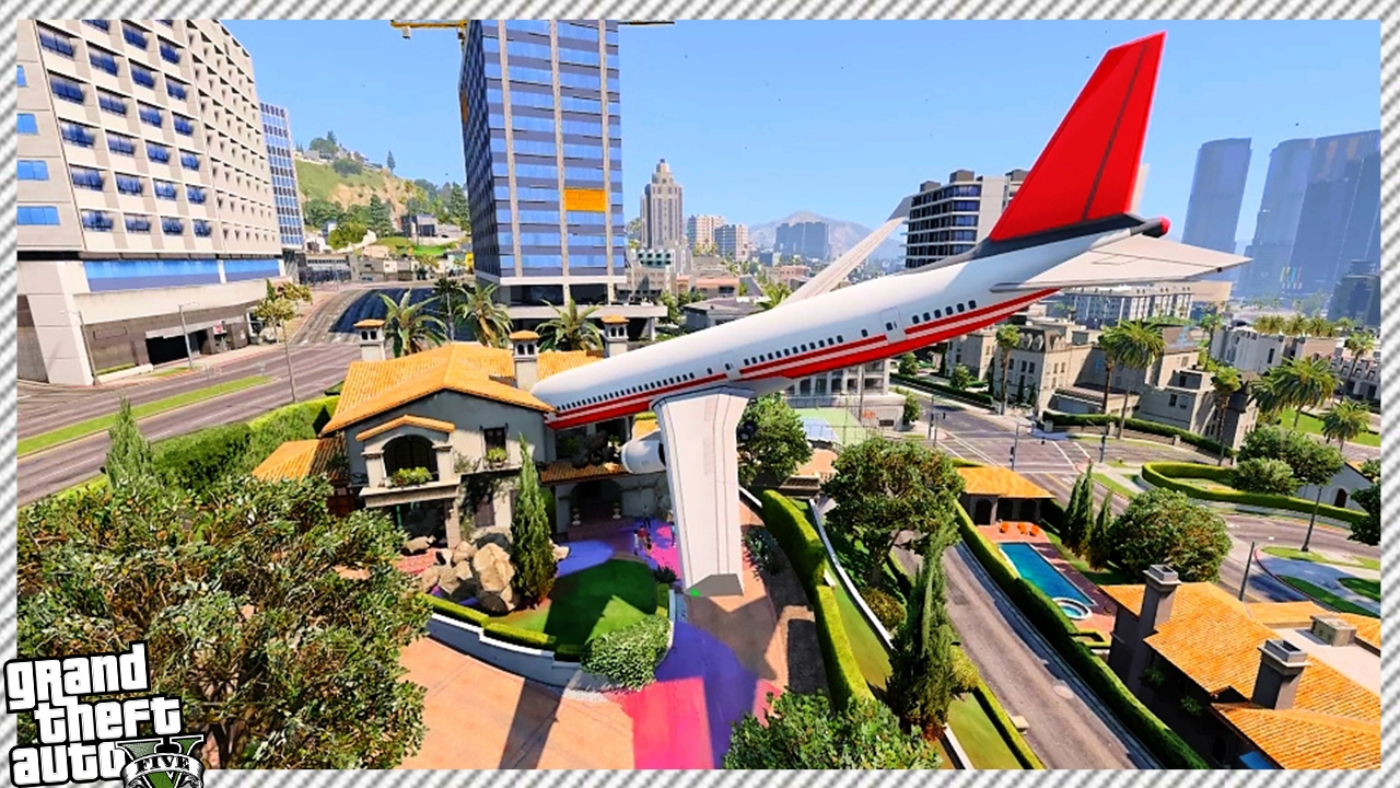 Insane Plane Crash In Michael S House Youtube