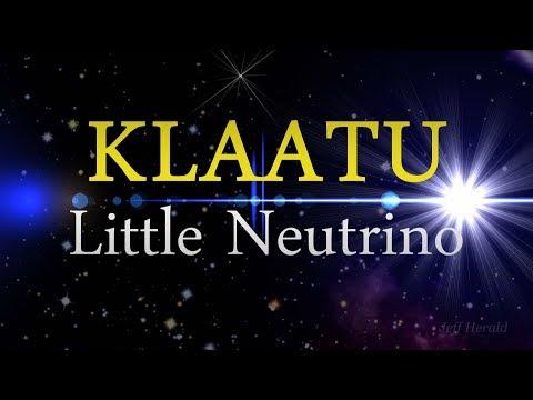 KLAATU - Little Neutrino - Lyric Music Video - Remix with Vocals and Mouse