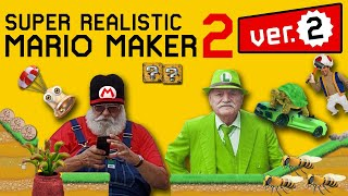 New Updates in Version 2.0 of Super Realistic Mario Maker 2!