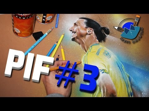 PLAYER IN FORM #3 | ZLATAN IBRAHIMOVIC (SPEED DRAWING)