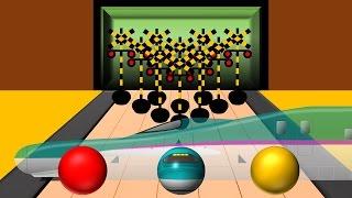 踏切ボウリング | fumikiri bowling | こどもアニメ thumbnail