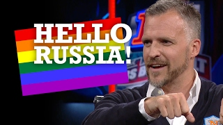 Rufus Gifford pride-pranks the Russian embassy