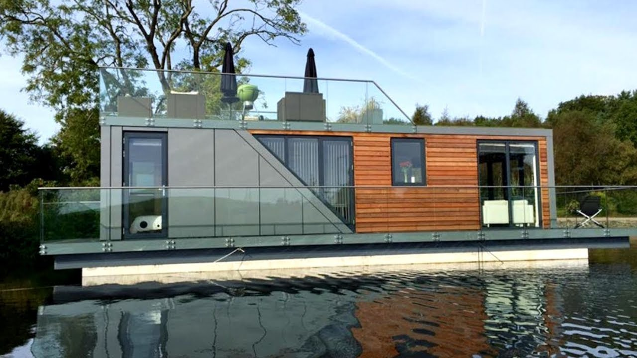 25 Modern Floating Homes