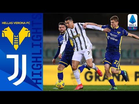 Helas Verona Juventus Goals And Highlights