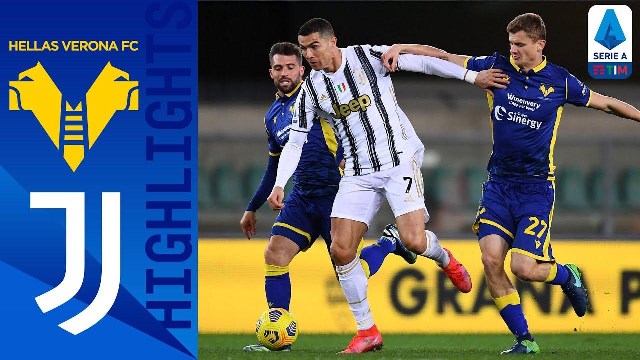 Download Hellas Verona 1-1 Juventus   Hellas Verona Fight Back After Ronaldo Goal   Serie A TIM