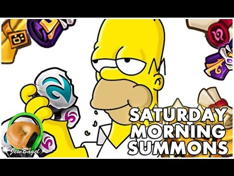 SUMMONERS WAR : Saturday Morning Summons LIVE - 1000+ Mystical & Legendary Scrolls - (4/8/17)