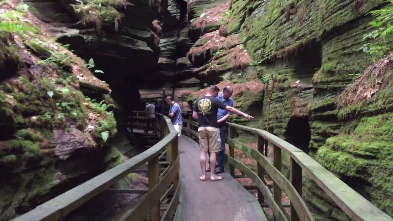 Witches Gulch Wisconsin Dells Boat
