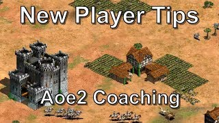 Age of Empires II Coaching - New Player Tips (3v3 Arabia)