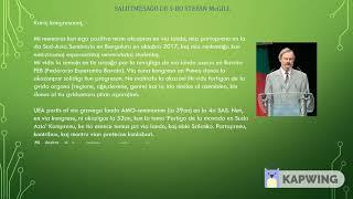 Salutmesaĝoj por Barata Esperanto Kongreso 18